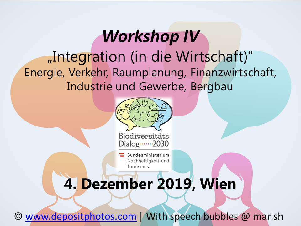 Workshop 4 - Integration (in die Wirtschaft)